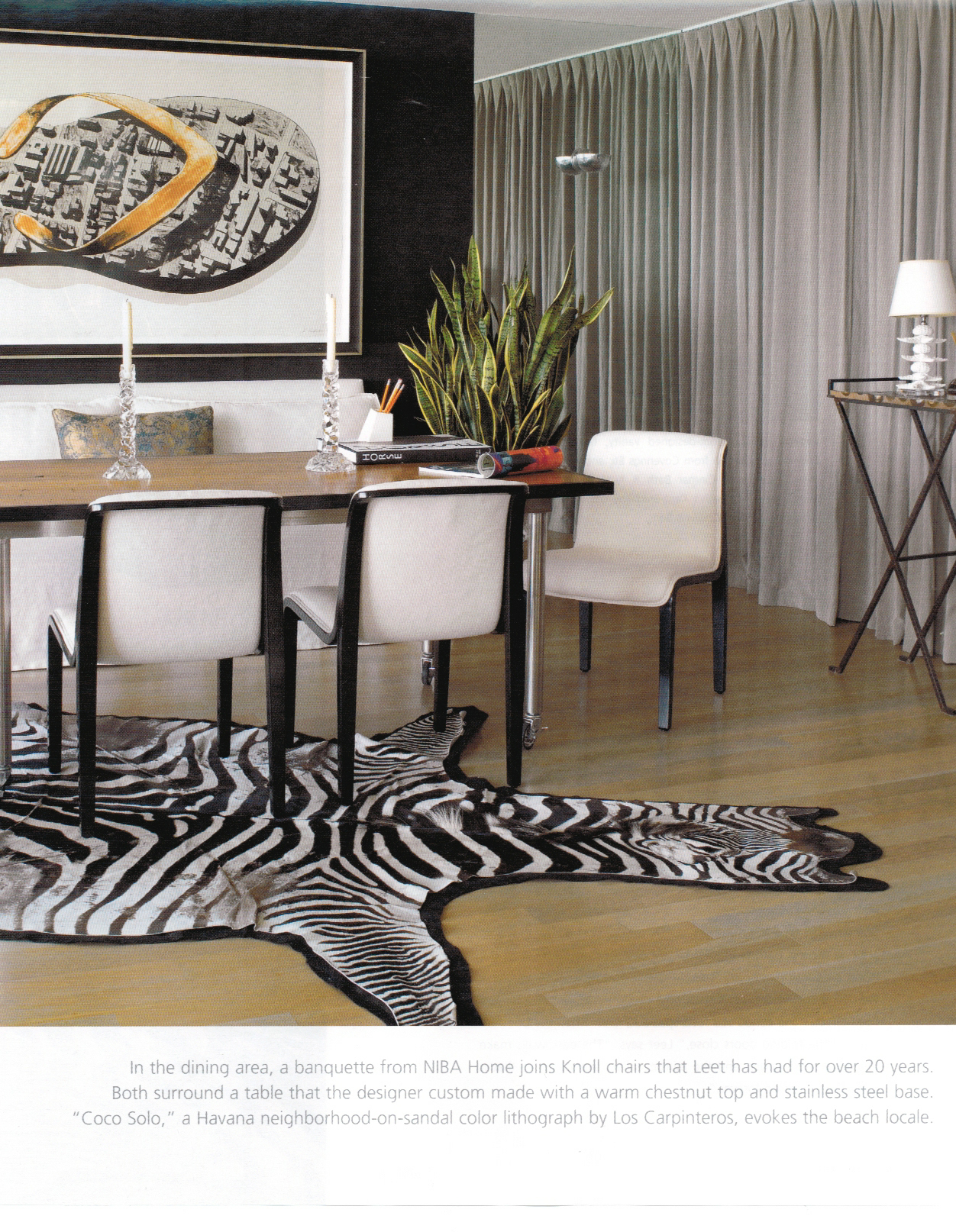 "Los Carpinteros print ""Coco Solo"" featured in Florida Design's Miami"