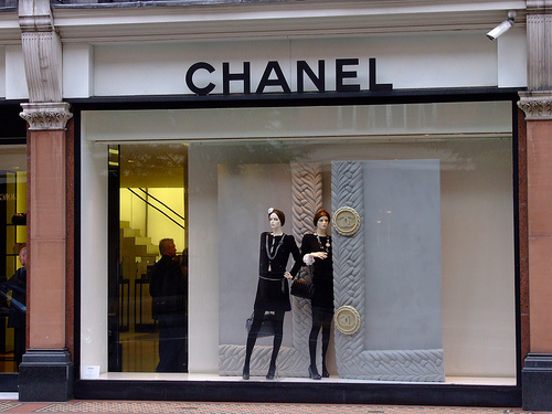 Chanel Berlin allan mccollum one thousand installed at chanel store