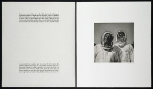 "Graciela Iturbide, Conquistadores, 1996. Photogravure and silkscreened text. 30"" x 26 1/2"" (2). Edition: 60."