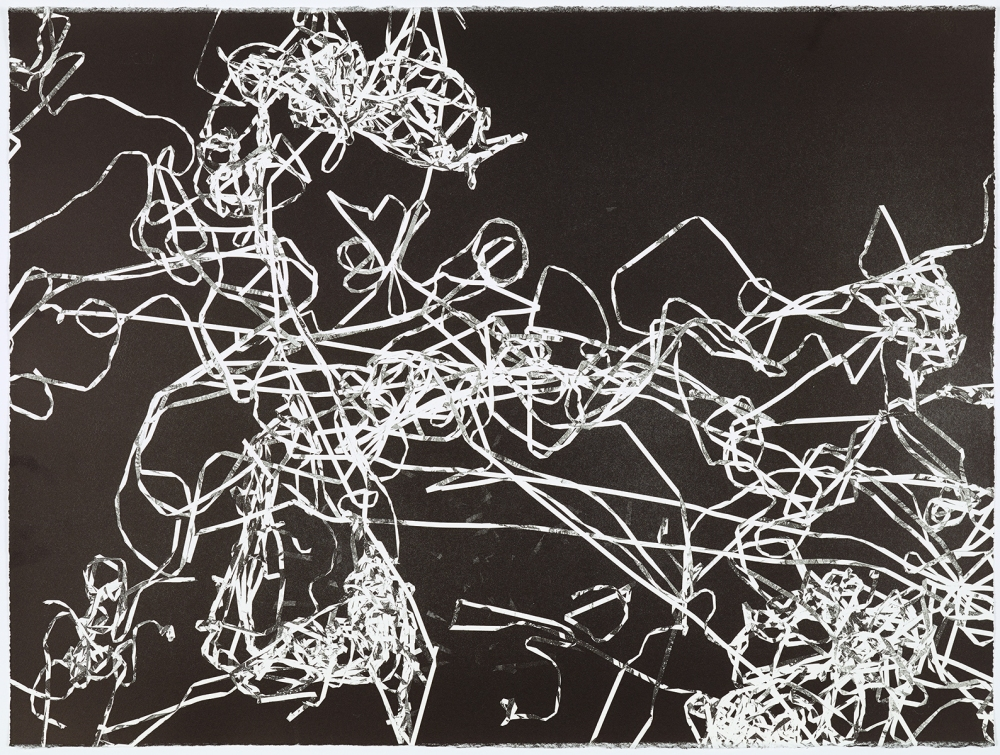 Christian Marclay unique monoprint GS 1554-39 22