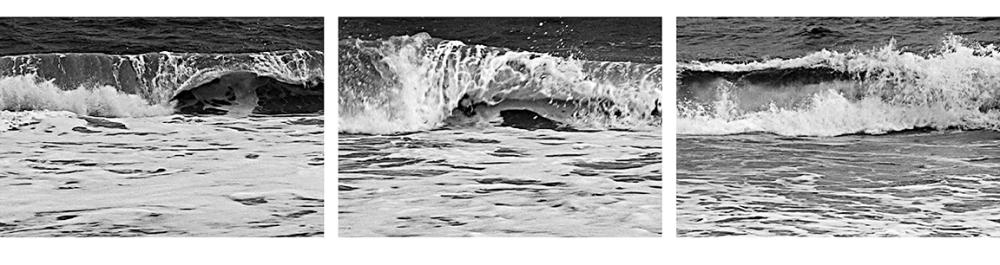 "Burt Barr ""Wave"" panels 10-12"
