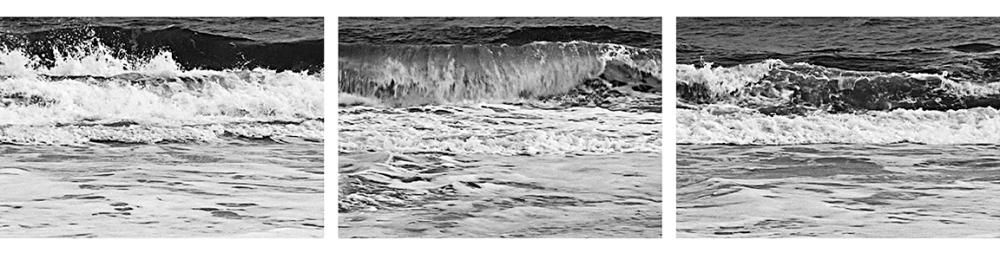 "Burt Barr ""Wave"" panels 13-15"