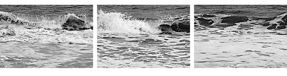 "Burt Barr ""Wave"" panels 4-6"