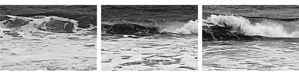 "Burt Barr ""Wave"" panels 7-9"